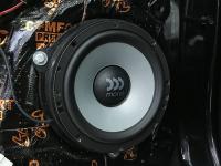 Установка акустики Morel Maximo Ultra 602 в KIA Sportage III (SL)