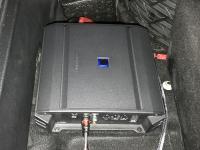 Установка усилителя Alpine S-A60M в Audi Q7 II (4M)