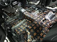 Установка Comfort Mat Dark D3 в Mercedes E class (W213)