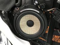 Установка акустики Focal Performance PS 165 FE в Volkswagen Caravelle T6.1