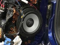 Установка акустики Morel Maximo Ultra 602 в Fiat Punto
