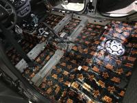 Установка Comfort Mat Dark D3 в Lada Vesta SW