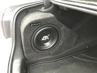 Установка сабвуфера ESX SX1040 в BMW 5 (G30)
