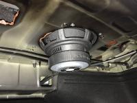 Установка сабвуфера Challenger Opus SD-200FA в KIA Cerato IV (BD)