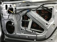 Установка Comfort Mat Dark D2 в Subaru Forester (SK)