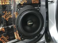 Установка акустики Eton POW 200.2 Compression в Subaru Forester (SK)