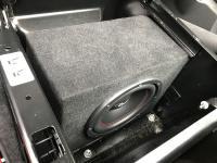 Установка сабвуфера Challenger Opus SD-200FA в Volkswagen Caravelle T6.1