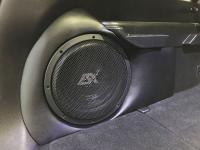 Установка сабвуфера ESX SX1040 в Nissan X-Trail (T32)