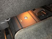 Установка усилителя Alpine S-A60M в Nissan X-Trail (T32)