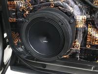 Установка акустики Audison Prima APK 165 в Audi Q8