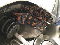 Установка Comfort Mat Dark D3 в Toyota Highlander