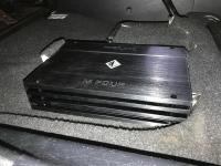 Установка усилителя Helix M FOUR в Toyota Highlander