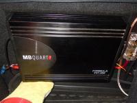 Установка усилителя MB Quart FX1.600 в Renault Sandero