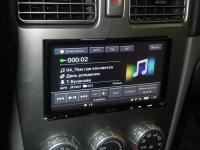 Фотография установки магнитолы Sony XAV-E70BT в Subaru Forester (SG)