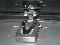 Установка антирадара Whistler Pro 68 SE в Lexus GS 300