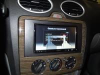 Фотография установки магнитолы Sony XAV-E70BT в Ford Focus 2