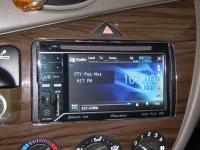Фотография установки магнитолы Pioneer AVH-P3300BT в Ford Focus