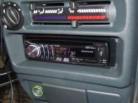 Фотография установки магнитолы Pioneer DEH-6310SD в Lada 2114