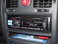 Фотография установки магнитолы Alpine CDE-112Ri в Hyundai Getz
