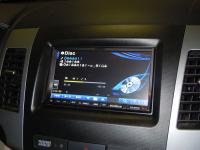 Фотография установки магнитолы Alpine INA-W910R в Peugeot 4007