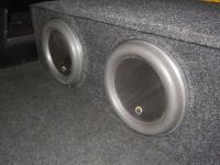 Установка сабвуфера JL Audio 10W7AE-3 в Nissan Teana (J32)