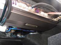 Установка усилителя DLS A6 Mono Amp в Nissan Teana (J32)