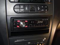 Фотография установки магнитолы Pioneer DVH-P430UB в Chrysler Pacifica