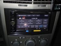 Фотография установки магнитолы Sony XAV-62BT в Opel Astra H