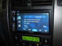 Фотография установки магнитолы Philips CID2680 в Chevrolet Lacetti