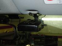 Установка антирадара Whistler Pro 68 SE в Mitsubishi Lancer X