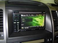 Фотография установки магнитолы Pioneer AVH-P3200BT в Toyota Land Cruiser 120