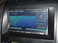 Фотография установки магнитолы Alpine IVA-W520R в Toyota Land Cruiser 120