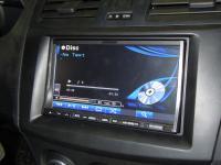 Фотография установки магнитолы Alpine INA-W910R в Mazda 3 (II)