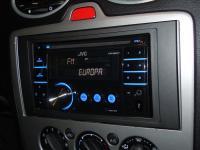 Фотография установки магнитолы JVC KW-XR417EE в Ford Focus 2