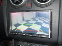 Фотография установки магнитолы Alpine IVA-W520R в Nissan Qashqai