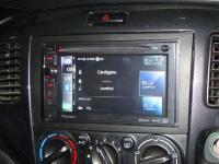 Фотография установки магнитолы Pioneer AVIC-F930BT в Mazda MPV