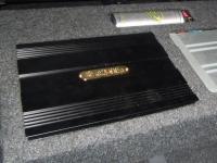 Установка усилителя DLS CA450i в Mitsubishi Outlander XL