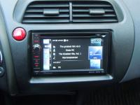 Фотография установки магнитолы Pioneer AVIC-F930BT в Honda Civic 5D