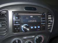 Фотография установки магнитолы JVC KW-XR417EE в Nissan Juke