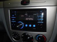 Фотография установки магнитолы JVC KW-XR417EE в Chevrolet Lacetti