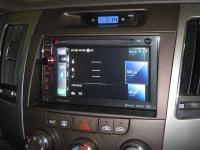 Фотография установки магнитолы Pioneer AVIC-F930BT в Hyundai NF Sonata