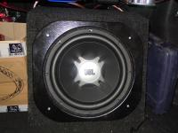 Установка сабвуфера JBL GT5-12 box в Hyundai Sonata