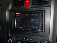 Фотография установки магнитолы Pioneer AVH-P3400DVD в Honda CR-V (III)
