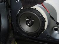 Установка акустики DLS M126 в Citroen C4
