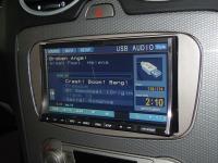 Фотография установки магнитолы Alpine IVA-W520R в Ford Focus 2