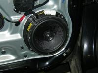 Установка акустики Morel Maximo Coax 6 в Hyundai Santa Fe (II)