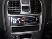 Фотография установки магнитолы Alpine CDE-9882Ri в Hyundai Sonata