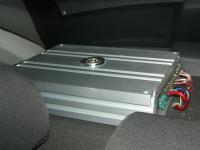 Установка усилителя DLS MA41 в Chevrolet Cruze