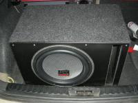 Установка сабвуфера MTX T612-22 vented box в BMW 1 (E87)