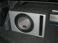 Установка сабвуфера MTX T612-22 vented box в Mazda 3 (II)